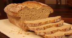 I think that homemade bread baking in the bread maker is a smell I will EVER tire of! Enjoy my famous gluten- free, dairy- free BREAD MAK Gf Recipes, Gluten Free Recipes, Bread Recipes, Cooking Recipes, Healthy Recipes, Easy Recipes, Dairy Free Bread, Gluten Free Banana Bread, Gluten Free Breadmaker Recipe