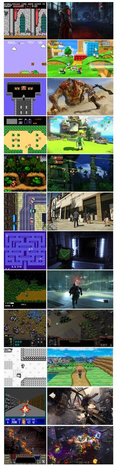 Via Reddit user StatusQ4 - Gaming Then and Now
