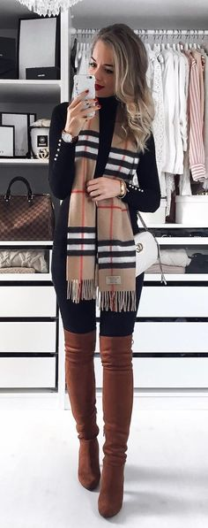 40 Catchy Outfit Ideas To Wear This Winter - #winteroutfits #winterstyle #winterfashion #outfits #outfitoftheday #outfitideas