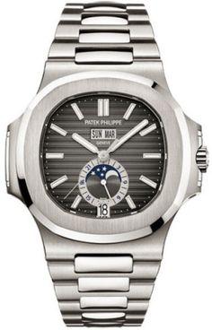 Patek Philippe Nautilus Stainless Steel 40.5mm Watch
