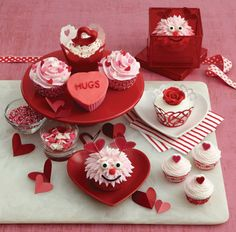Red Velvet with Love Cupcakes