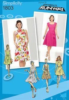 simplicity 1803 Dress
