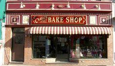 Fachada da primeira loja da Carlo's Bakery em Nova Jersey.