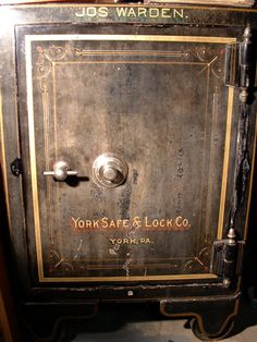 York County auctioneer is expert on York Safe & Lock safes, locks and vaults. Antique Safe, Safe Vault, Safe Lock, Double Doors, Locks, Door Handles, Antiques, Vintage, Door Knobs