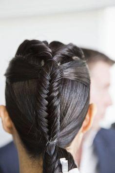 Epic fishtail braid