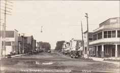 RP: Main Street (dirt) , SHELL LAKE , Wisconsin , PU-1921 Item# SCVIEW424474 (273208455)