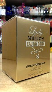 Косметика и Парфюмерия на Проспекте Ветеранов 130, СПб: Paco Rabanne Lady Million Eau My Gold, в Санкт-Пет...