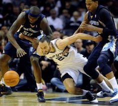 Manu- my favorite Spur! Whenever we're getting behind Coach Pop puts him on the floor! Next thing you know we're winning!