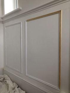 Dining Room Paneling, Stair Paneling, Bathroom Paneling, Wainscoting, Panelling, Wood Panel Walls, Wood Wall, Bathroom Box, Dado Rail