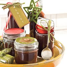 Food Gifts for Christmas: Hot Fudge Sauce