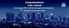 Congratulations Jude on achieving PfMP using only PMCerty resources Pmp Exam, Program Management, Portfolio Management, Success Story, Proud Of You, Scores, Make It Simple, Congratulations, March