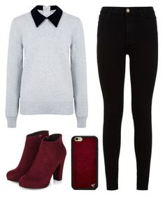 """Preppy But Edgy #2"" by jillian263737 ❤ liked on Polyvore featuring Edit, 7 For All Mankind and Wildflower"