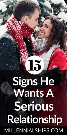 Here are 15 signs he wants a relationship and whether or not you can change his mind about wanting something serious. It's pretty obvious. Serious Relationship, Marriage Relationship, Happy Relationships, Relationship Problems, Marriage Advice, Relationship Questions, Love Advice, Love Tips, How To Be Single