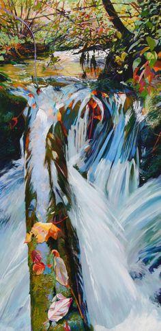 """Saatchi Online Artist: Ellen Dittebrandt; Acrylic, 2010, Painting """"Serendipity """""""