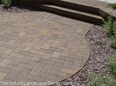 like paver color & this pattern for new front walkway