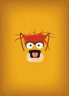 minimalist picture of muppet characters - Google Search