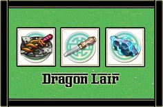 DRAGON LAIR MATERIALES