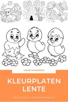 Lente Kleurplaten Lammetjes.8 Beste Afbeeldingen Van Kleurplaten Voor Kinderen In 2019