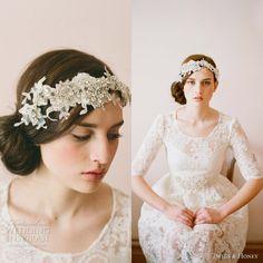 Надополнете ја невестинската фризура со прекрасни украси