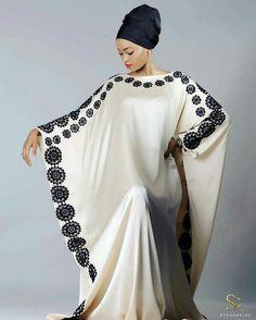 Stylish Caftan from Diyanu - Ankara Dresses, Shirts & African Attire, African Wear, African Women, African Dress, Islamic Fashion, Muslim Fashion, Modest Fashion, Mode Abaya, Mode Hijab