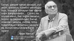 Yaşar Kemal - Sanat üzerine... https://kitapokurum.blogspot.com.tr/