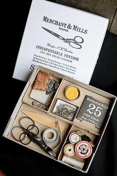 El packaging de Merchant & Mills
