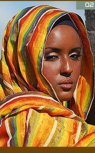Ethiopian woman.