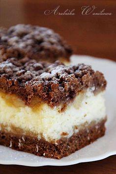 Kakaowe ciasto z kokosem i jabłkami | Arabeska