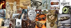 Image result for steampunk moodboards