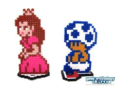 perler link stand - Google Search