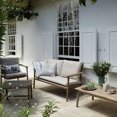 BuyJohn Lewis Croft Collection Islay 2 Seater Outdoor Sofa Natural Online At Johnlewis