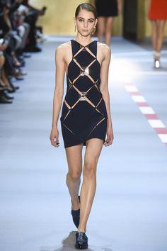 Mugler Spring 2016 Ready-to-Wear Fashion Show - Romy Schonberger (Viva)
