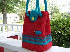 Ravelry: Project Gallery for Felted Crochet Booga Bag pattern by Jen Schaller