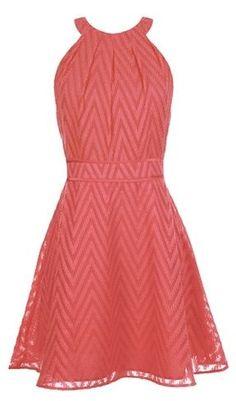 Chevron Texture Dress