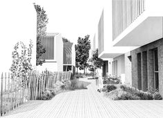 75 logements - Concours Gironde Habitat Cadaujac Courraud