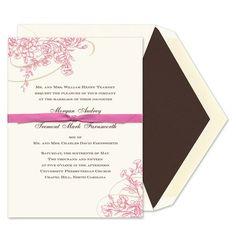 Floral Flourish Invitations - William Arthur (