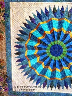 Parasol quilt by Mindy Powell | Quilting Together: May 2014