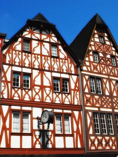Trier, Germany: Oh, how I love Trier and the buildings that are so beautiful!