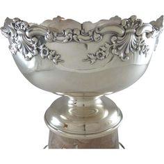 Antique Sterling Silver Trophy Bowl C 1905