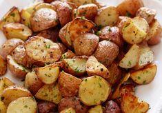 Garlic Roasted Potatoes by Ina Garten Ina Garten Roasted Potatoes, Toasted Potatoes, Potatoes In Oven, Garlic Roasted Potatoes, Roasted Vegetables, Best Potatoes For Roasting, Fried Potatoes, Best Potato Recipes, Roasted Potato Recipes