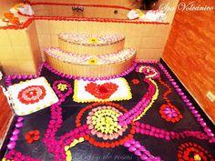 Un romántico baño de rosas esencias en el #SpaVolcánico