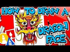 Mythical Archives - Art For Kids Hub Chinese New Year Dragon, Chinese New Year Crafts, Dragon Kid, Dragon Face, Art For Kids Hub, Art Hub, Classroom Art Projects, Art Classroom, Classroom Ideas