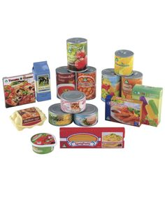 Play Food Tins and Groceries - Mothercare