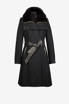 Tres chic. Zip Out Vesty Faux Fur Collar at French Connection USA.