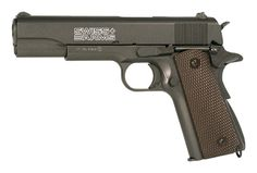 No, it probably won't kill a zombie, but it might keep you in game, and a shot to the soft bits could be enough to deter casual scavengers...    SWISS ARMS P1911 4.5mm CO2 METAL