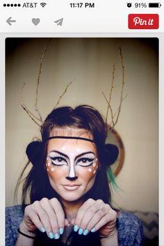 Halloween crazy makeup