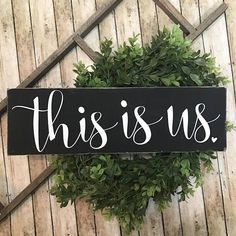 This is Us Family Decor Gallery Wall Sign This is Us