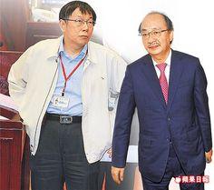 台北市長柯文哲昨首度到市議會備詢(梁建裕攝),三億男成為質詢焦點。柯自爆,他在出庭前見過柯建銘(資料照片)。
