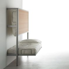 La Literal Folding Bunkbed by Sellex | Wall beds