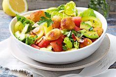 Unser beliebtes Rezept für Sattmachersalat mit Knuspermozzarella und mehr als 55.000 weitere kostenlose Rezepte auf LECKER.de.